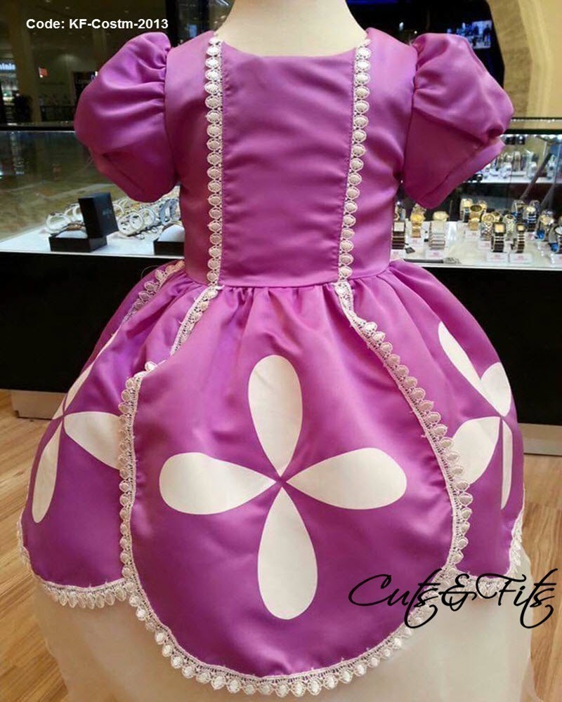 KF-Costm-2013 - Princess Sofia the First Satin Gown